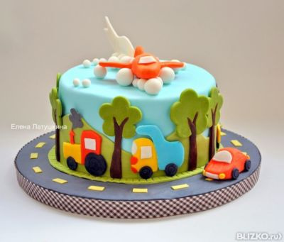 торт для мальчика.фото