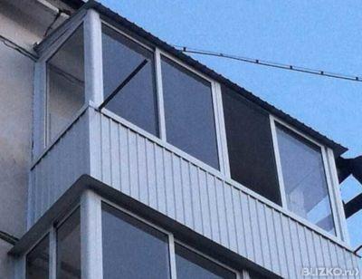 Балкон 3 метра без выноса с крышой в иркутске - на портале b.