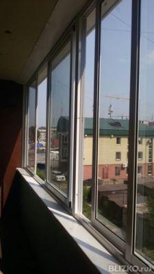 Балкон не выносной раздвижной 6300 * 1650 от компании гринла.