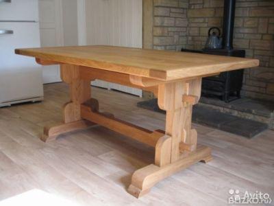 Стол деревянный массив своими руками