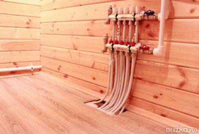 Деревянный тёплый пол своими руками