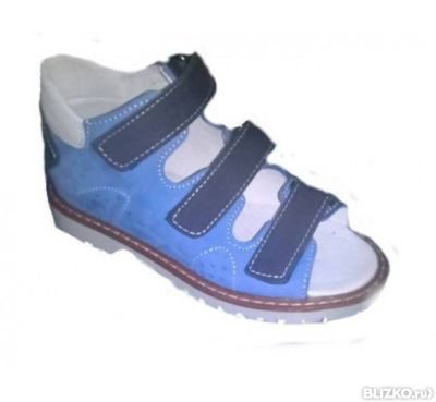 a8d221e78 Сандалии ортопедические 4Rest Orto (Форест Орто) 06-143 голубой в ...